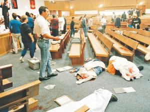 St James Church will mark 20 years since 11 people were killed and another 58 injured in the massacre. File photo: Jim McLagan INDEPENDENT NEWSPAPERS